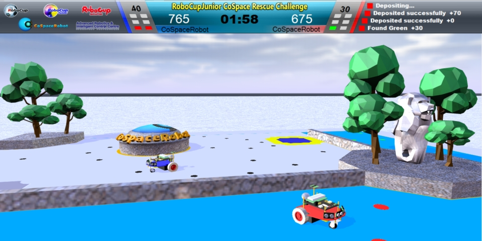 CoSpaceRobot Rescue 2015 V3.6 is online